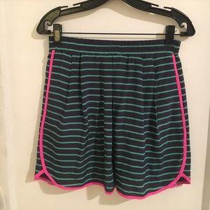 Nanette Lepore Striped Silk Skirt